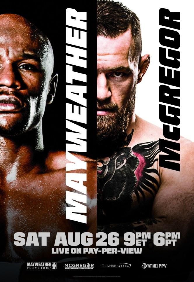 Mayweather McGregor Poster